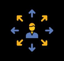 Lépj kapcsolatba velünk - logó