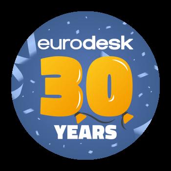 30 éves a nemzetközi Eurodesk hálózat kampány borítóképe