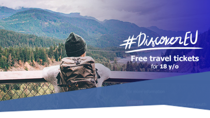 DiscoverEU: több mint húszezer fiatalnak nyílik lehetősége felfedezni Európát