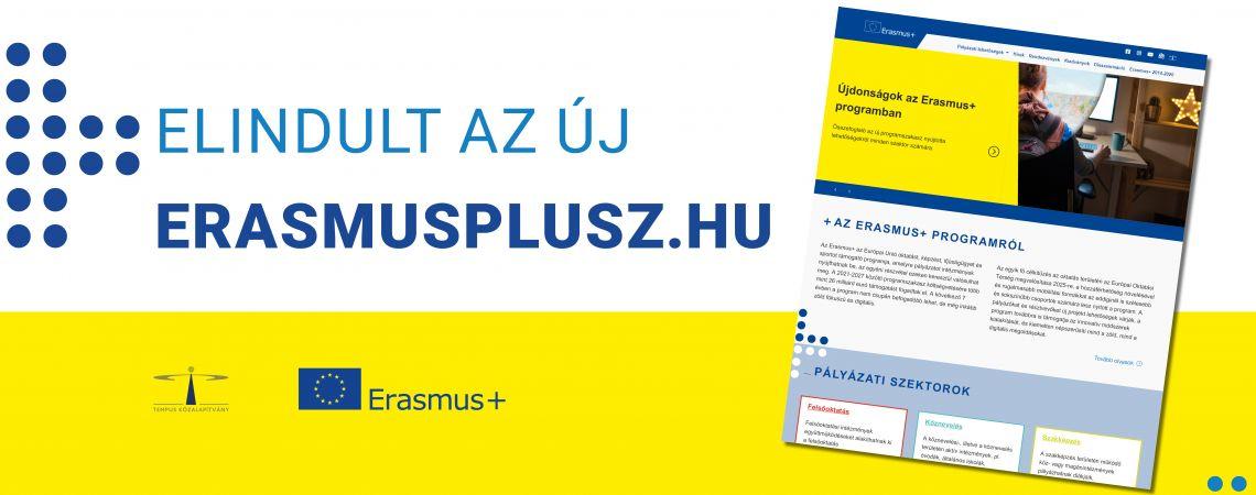Elindult az új Erasmus+ honlap