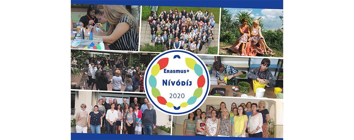 Erasmus+ Nívódíj 2020
