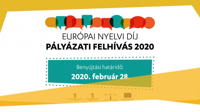 Európai Nyelvi Díj 2020