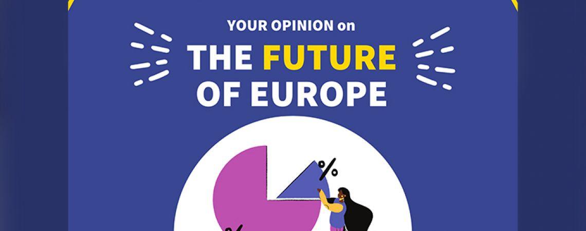 Fiataloknak szánt kérdőív az Európa Jövője konferencia kapcsán