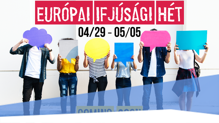 Hamarosan ismét Európai Ifjúsági Hét!