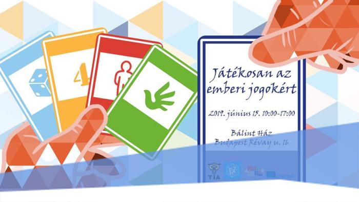 Játékosan az emberi jogokért konferencia