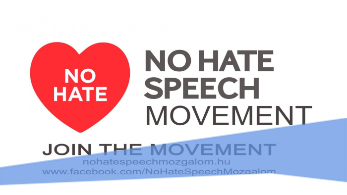 Keep calm and stop hate speech