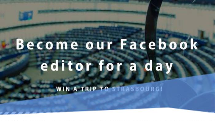 Légy az Európai Parlament Facebook oldalának kezelője egy napra!