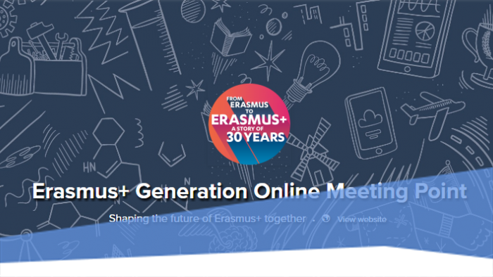 Erasmus+ Generation Online Meeting Point