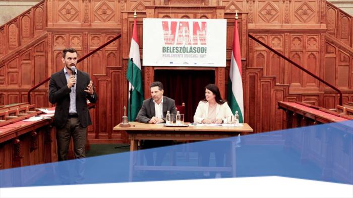 Van beleszólásod! - egy interaktív nap a parlamentben